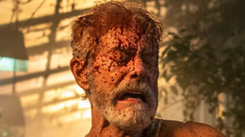 """Stephen Lang bloody in """"Don't Breathe 2"""""""