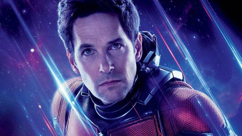 Paul Rudd as Ant-Man Avengers: Endgame poster