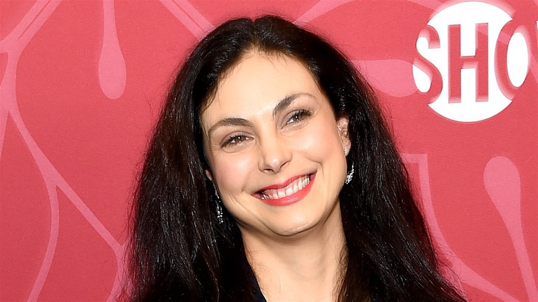 Morena Baccarin smiling