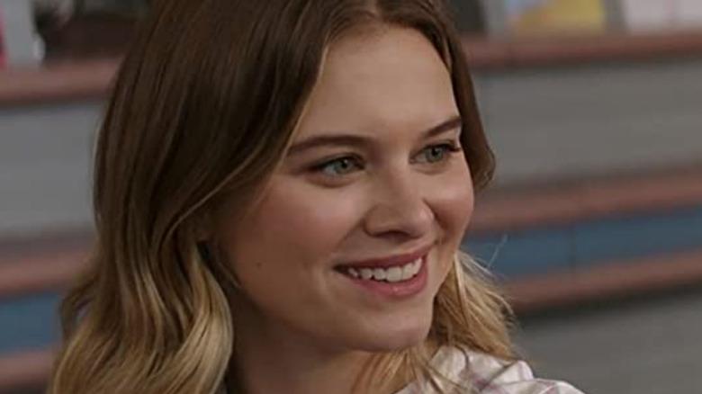 Sam smiling