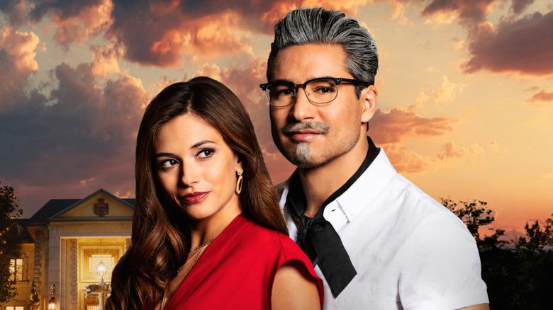 Mario Lopez and Justene Alpert in A Recipe for Seduction
