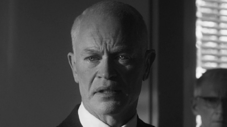 Dwight Eisenhower looking concerned