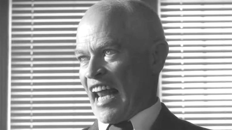 Eisenhower yelling