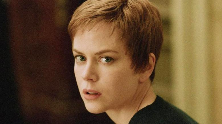 Nicole Kidman looking at camera