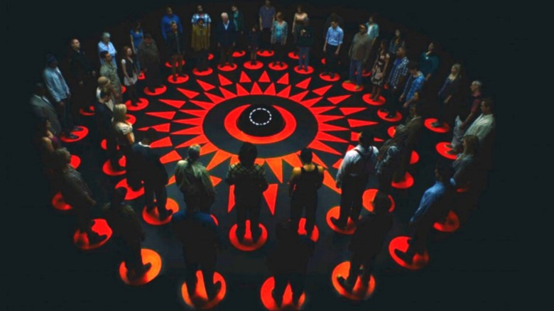 Fifty people in a circle