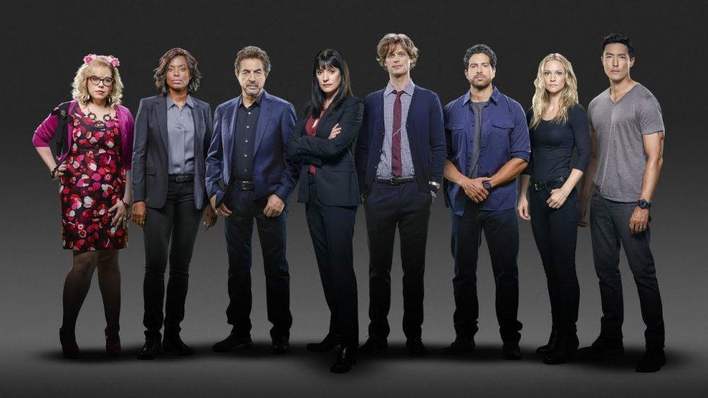 promo image of the cast of Criminal Minds' final season