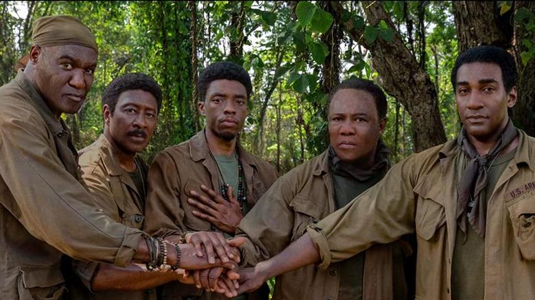 The men of the First back in Vietnam in Da 5 Bloods