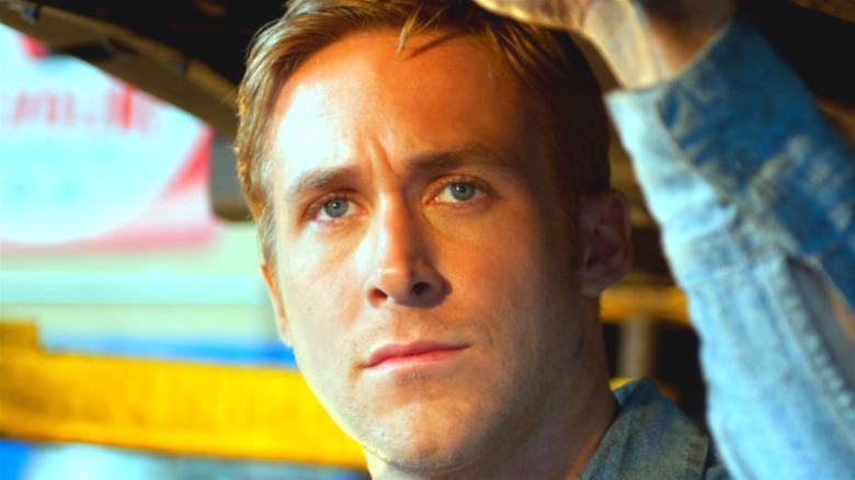 Ryan Gosling Driver denim jacket