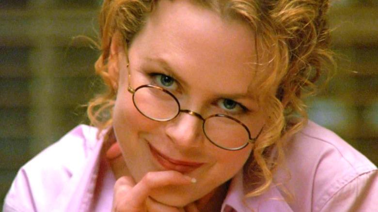 Nicole Kidman as Alice head tilted smiling