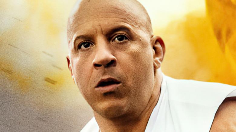 Dom Toretto mouth open