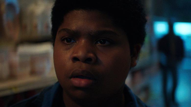 Benjamin Flores Jr. looking shocked