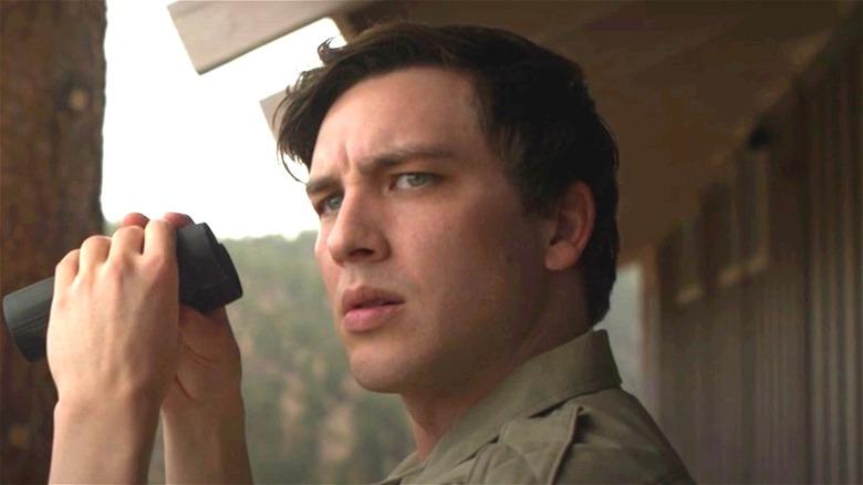 Ranger Stan with binoculars