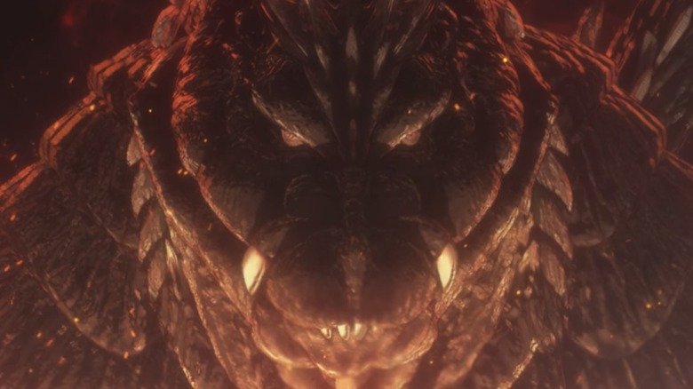 Godzilla rages in Singularity Point