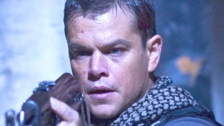 Miller pointing gun