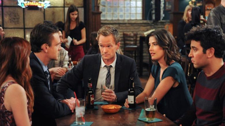 The gang at the bar