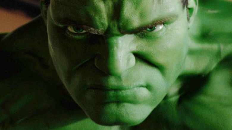 Hulk glaring enraged