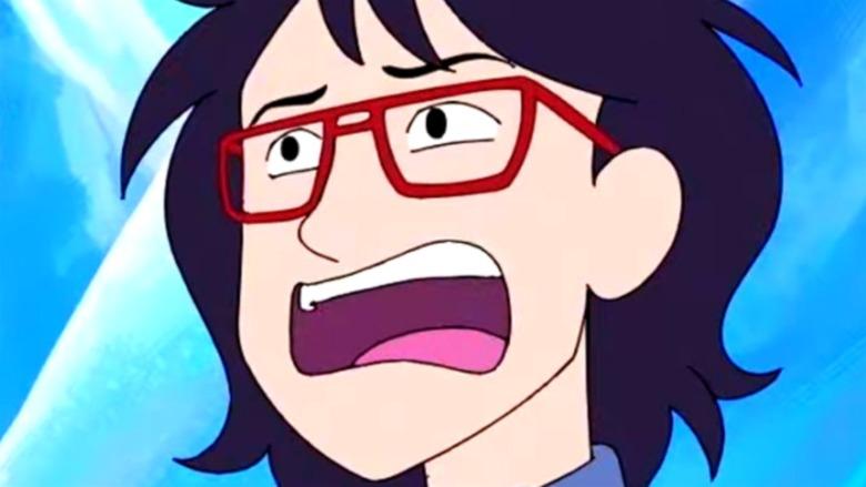 Ryan Akagi looking shocked