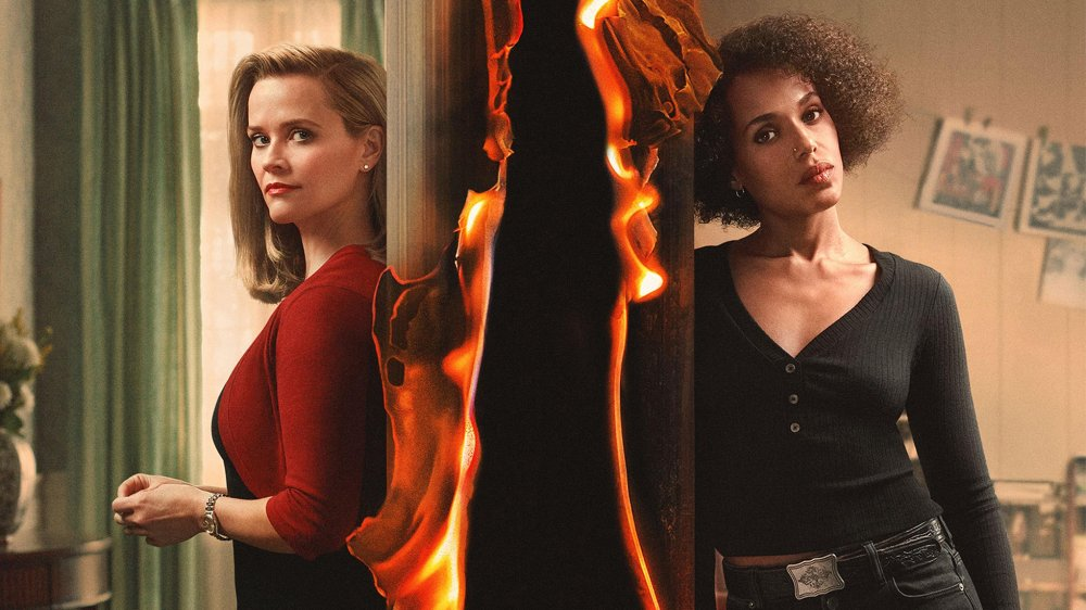 Reese Witherspoon and Kerry Washington on Little Fires Everywhere
