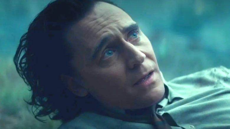 Loki wearing time collar