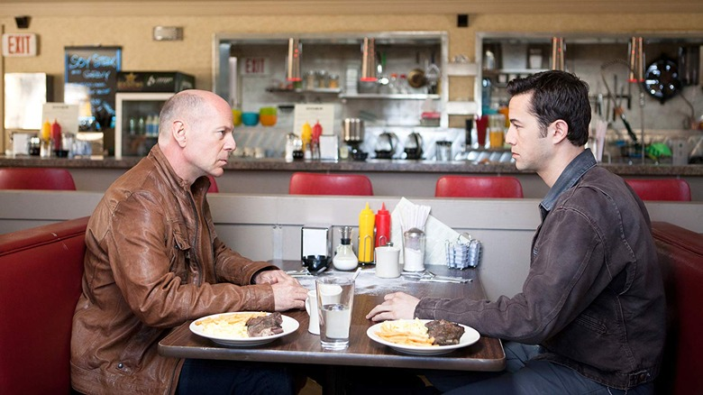 Joe and Old Joe in the diner