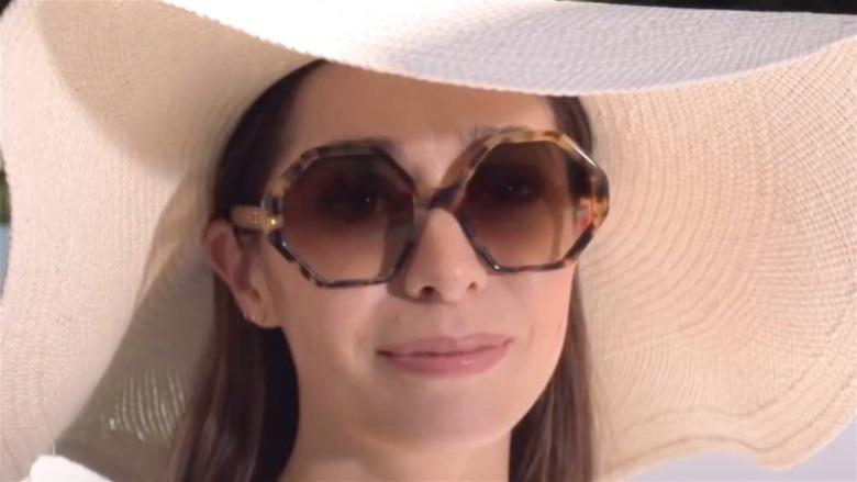 Hazel in sunglasses