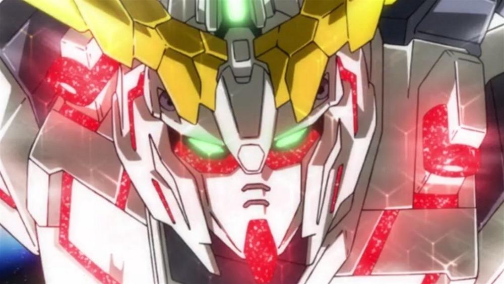 Gundam robot suit weapon