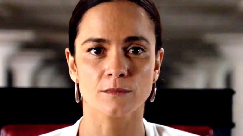 Alice Braga Teresa Mendoza hoop earrings