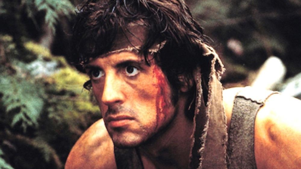 Sylvester Stallone John Rambo bleeding headband