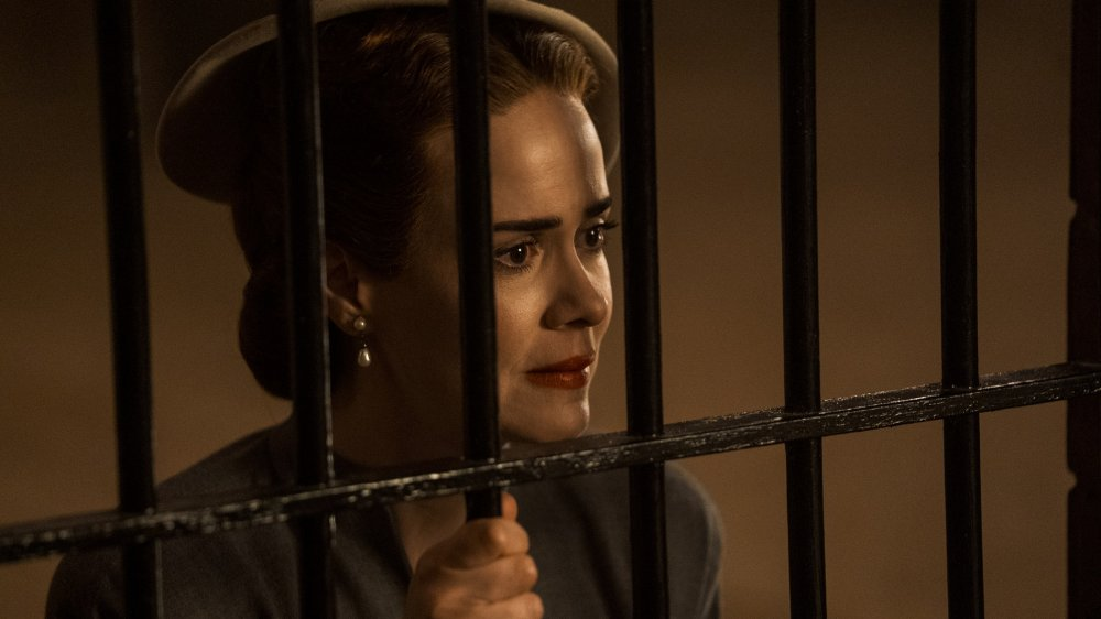 Sarah Paulson as Mildred Ratched on Ratched