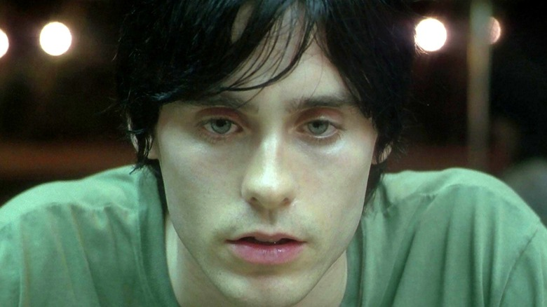Jared Leto looking serious