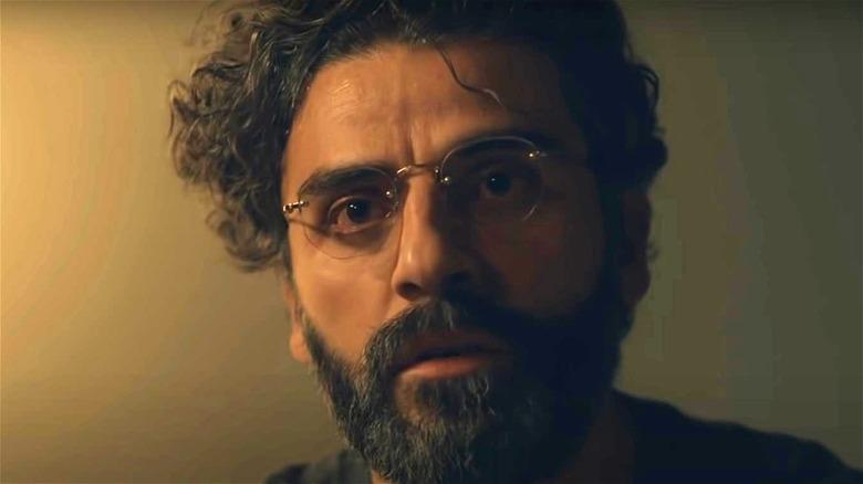 Oscar Isaac as Jonathan looking on