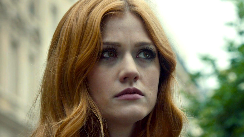 Clary Fray angry