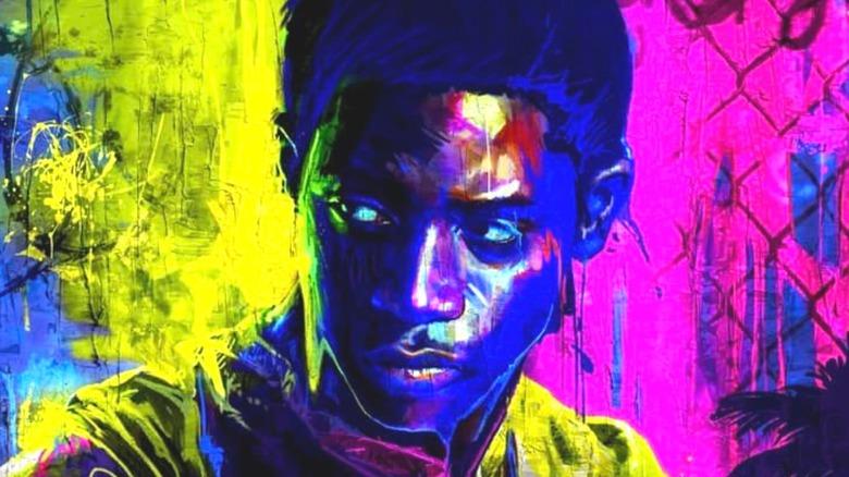 Franklin Saint in Graffiti