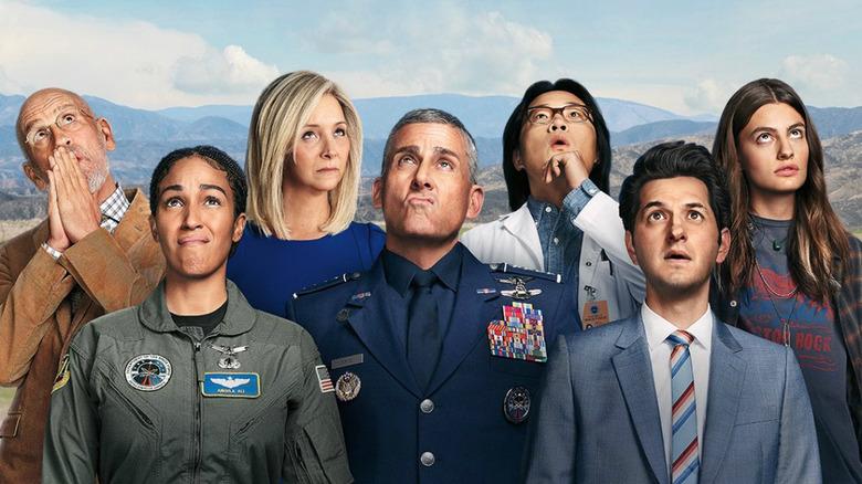 Space Force Netflix lead cast