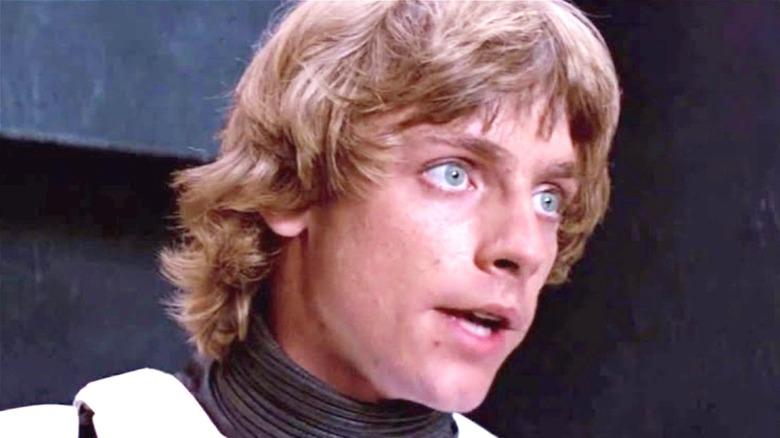 Luke Skywalker mouth open