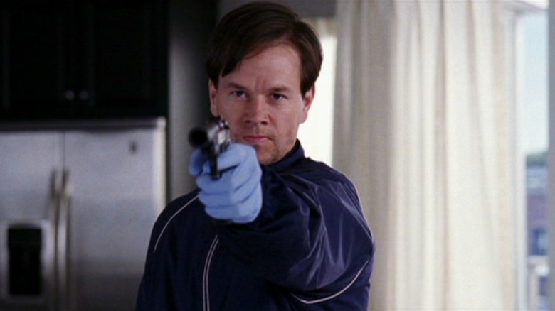 Mark Wahlberg as Sgt. Dignam in The Departed