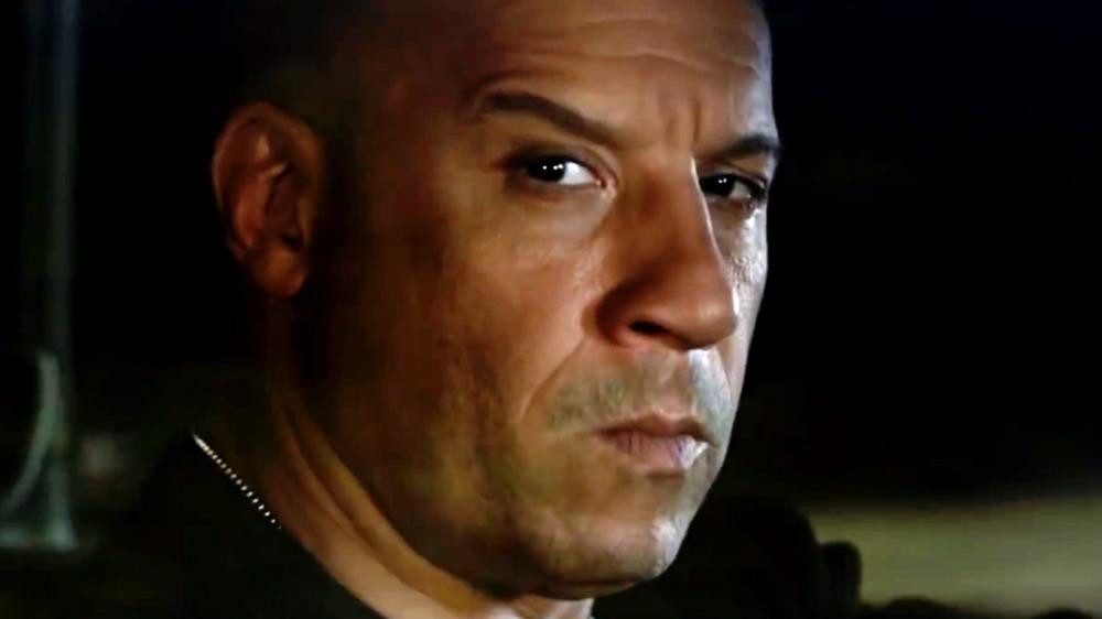 Vin Diesel staring intensely