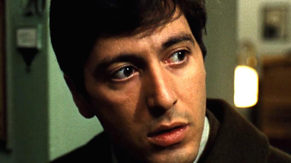 Michael Corleone looking off-camera