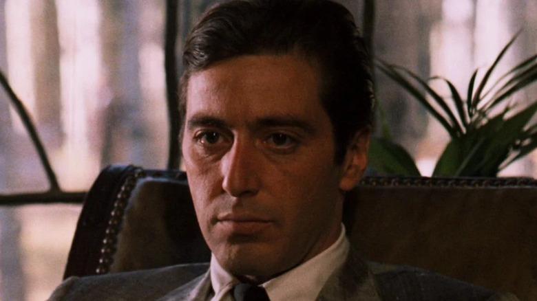 Michael Corleone looking pensive
