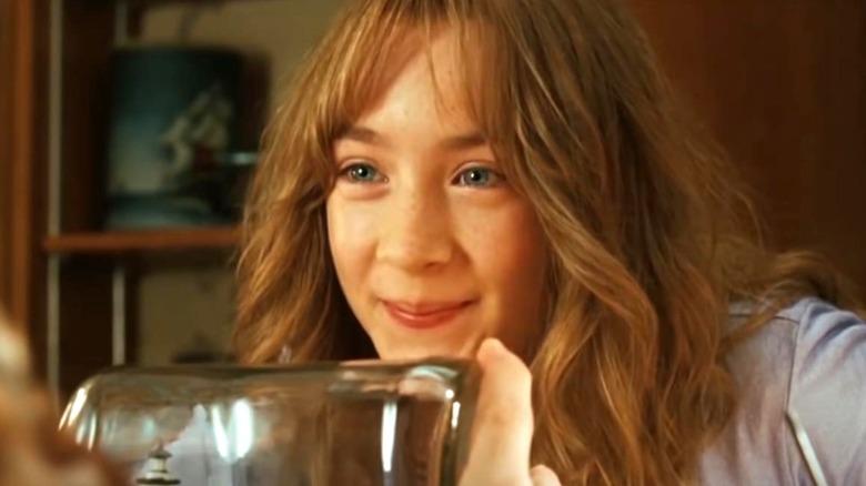 "Saoirse Ronan smiles as Susie Salmon in ""The Lovely Bones"""