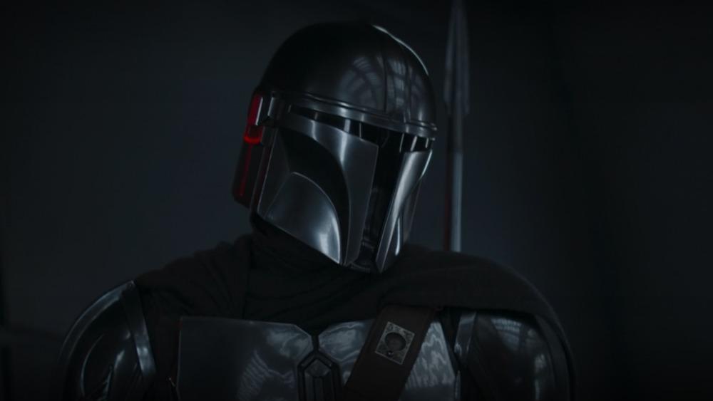 Mandalorian masked