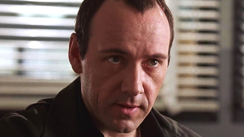 Kevin Spacey looking serious