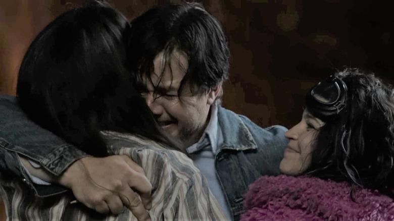 Eugene hugs Yumiko and Princess