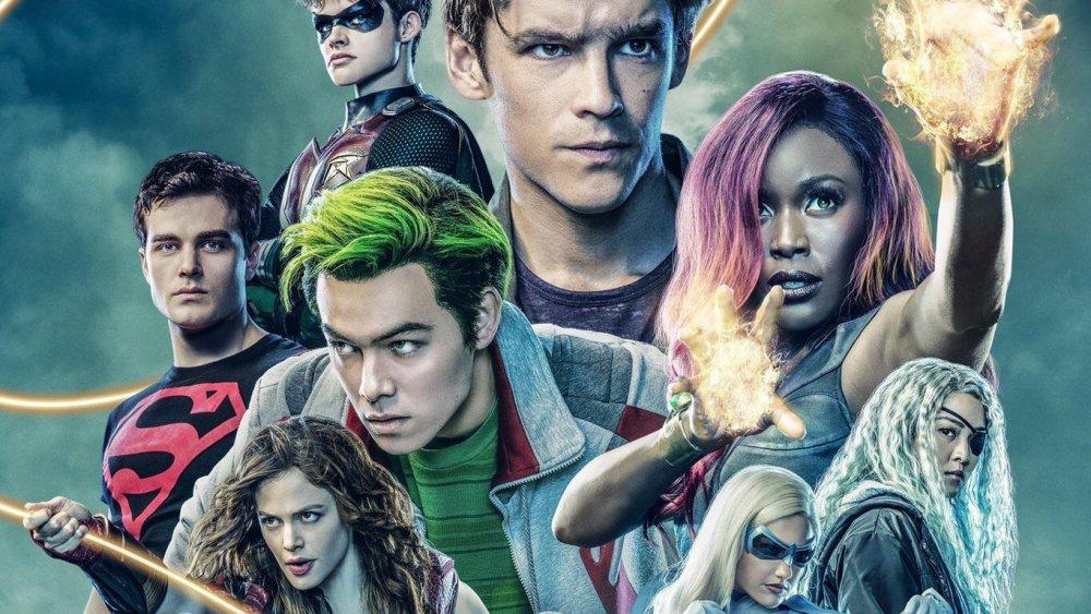 Titans season 2 poster