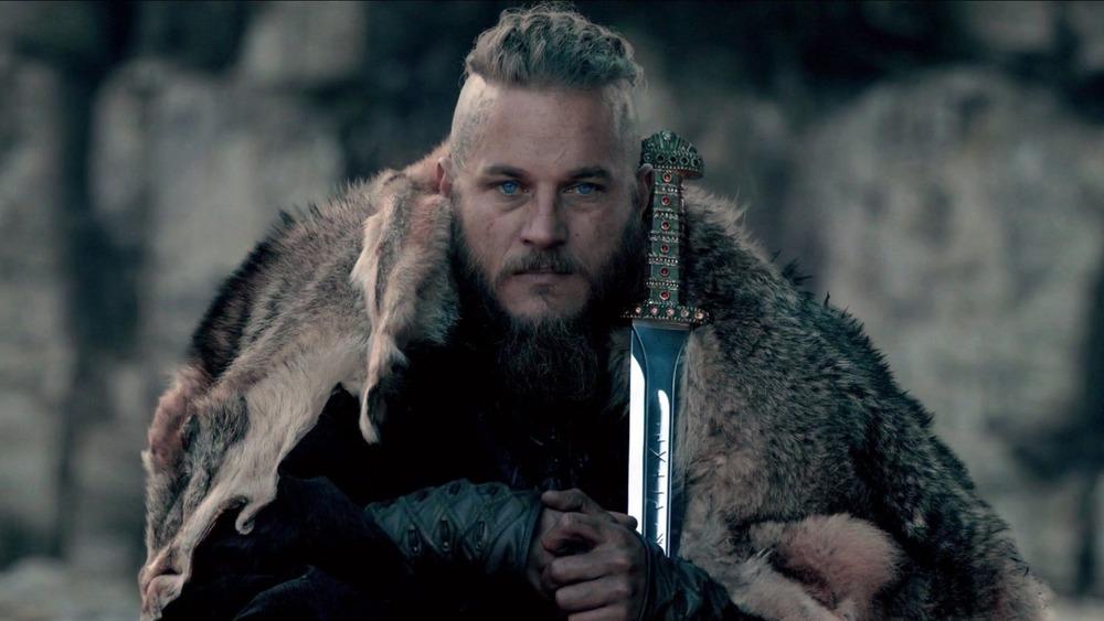 Ragnar Lothbrok with sword