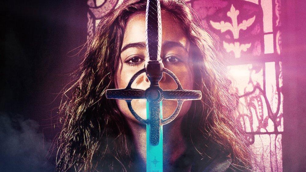 Alba Baptista as Ava on Warrior Nun