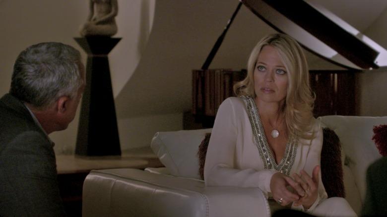 Bosch talks to producer's widow