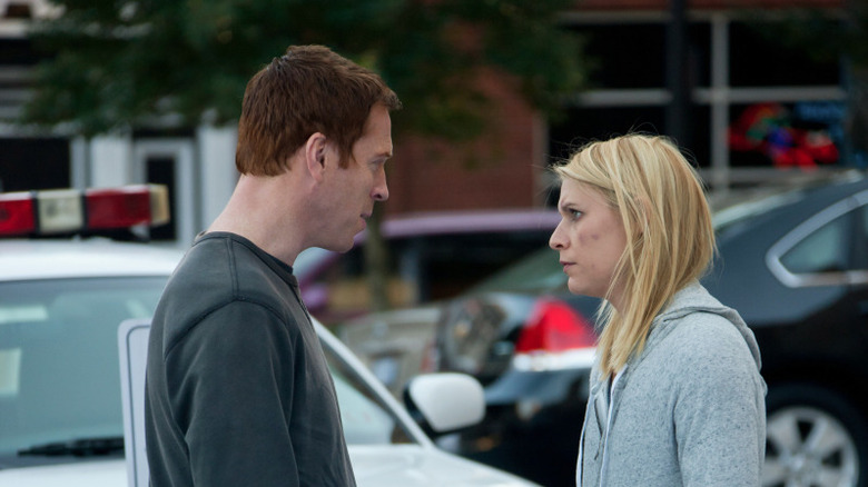 Nicholas Brody Carrie Mathison tension