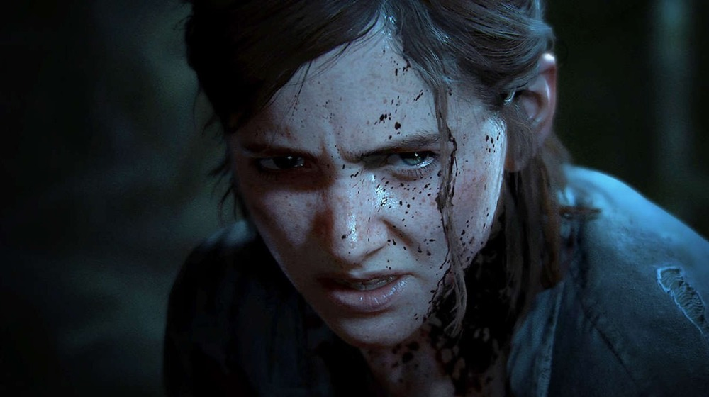 Ellie Scowling The Last of Us 2