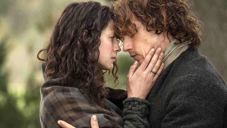 Outlander Claire and Jamie